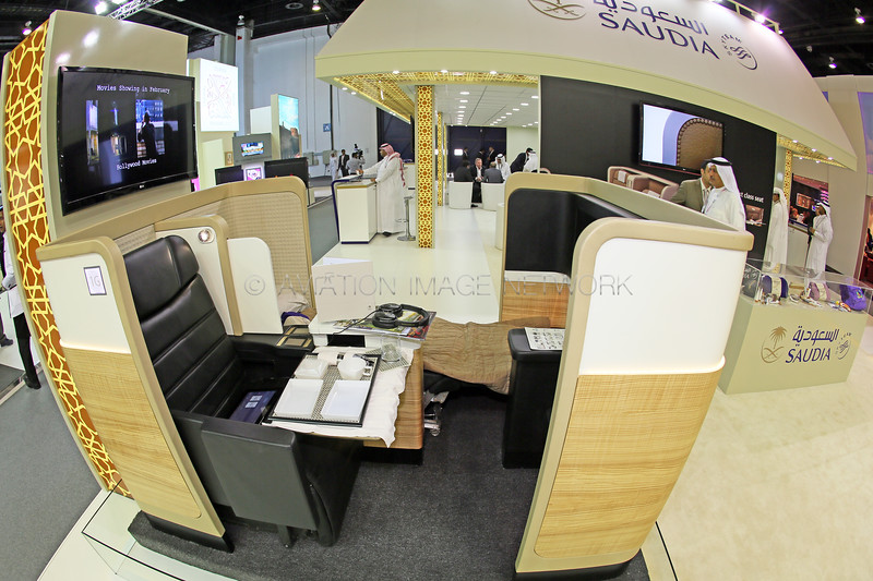 Saudia New First Class Seats
