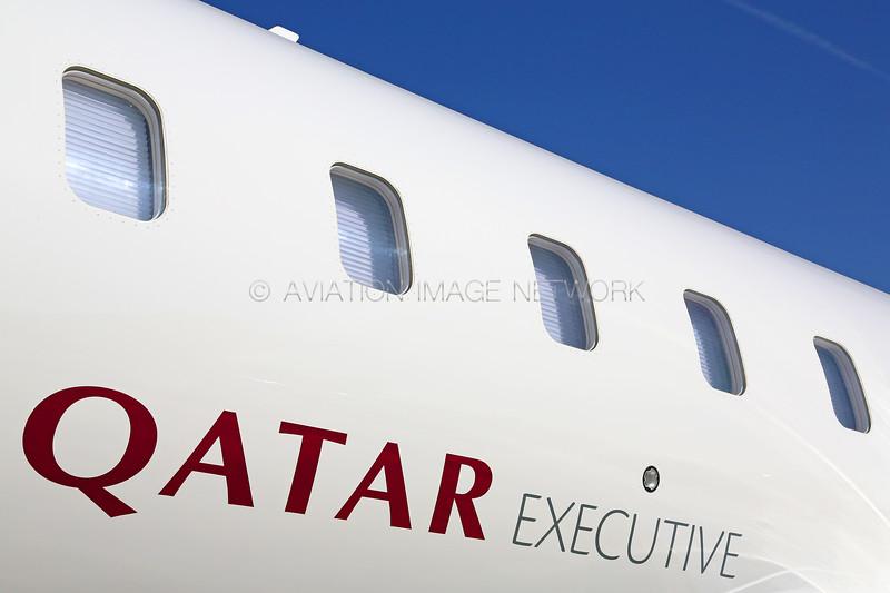 A7-CEI | Bombardier Global 5000 | Qatar Executive