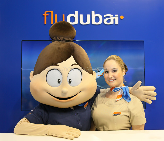 Flydubai ATM Display Stand