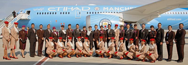 Emirates & Etihad Cabin Crew Members