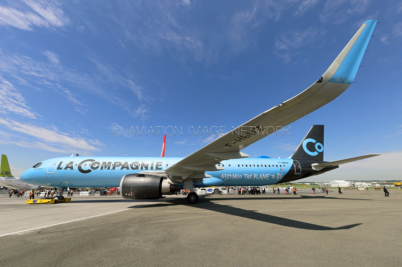 F-HBUZ   Airbus A321-251NX   La Compagnie