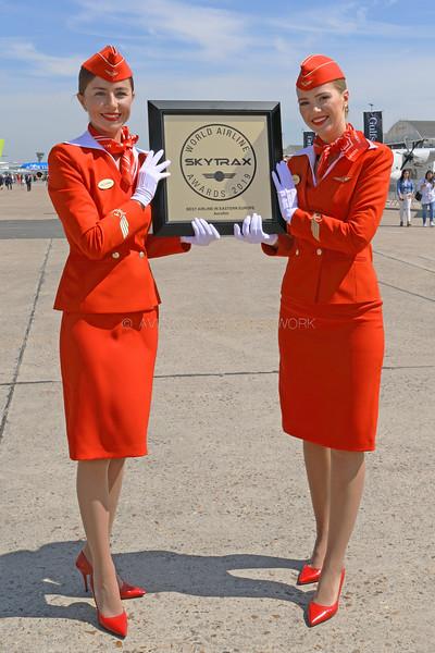 Aeroflot Cabin Crew Members