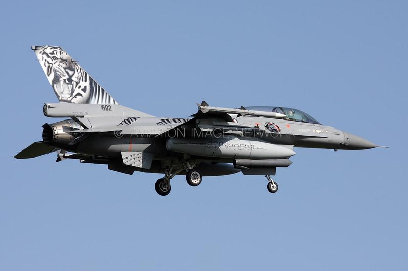 692 | General Dynamics F-16BM | Norwegian Air Force