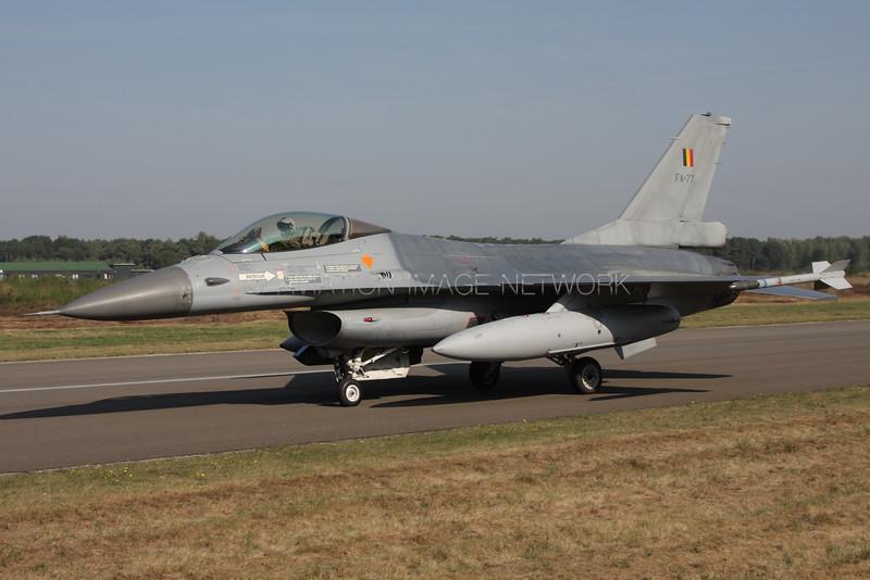 FA-77   General Dynamics F-16AM   Belgian Air Force