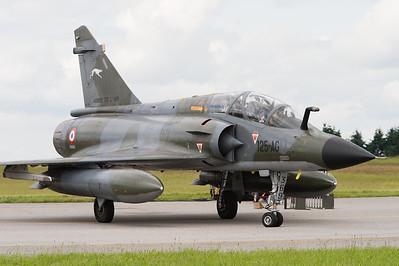 """Évreux air show 2012. Mirage 2000N """"Ramex Delta"""" de l'EC 2/4."""
