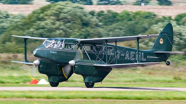 DH-89A, De Havilland, Dragon Rapide, G-AEML, Shoreham, Shoreham 2005, aircraft, airshow