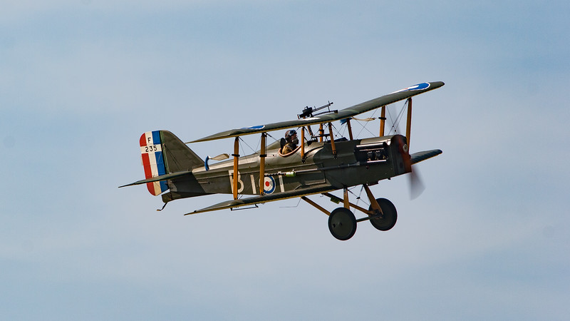Display Team, Royal Aircraft Factory, SE5a (replica), Shoreham, Shoreham 2005, The Great War Display Team, aircraft, airshow