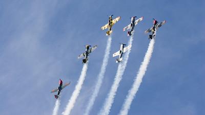 Aerostars, Display Team, Shoreham, Shoreham 2005, Yak-50, Yakolev, aircraft, airshow, http://www.aerostars.co.uk/