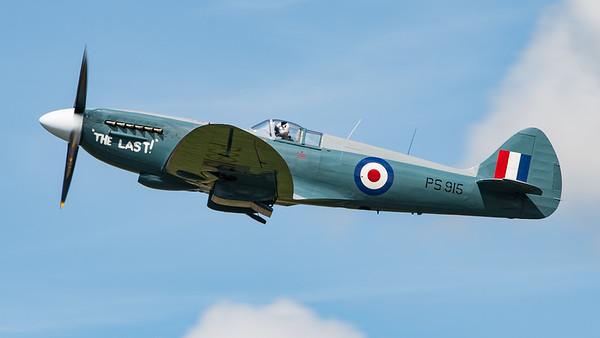 BBMF, Battle of Britain Memorial Flight, PS915, RIAT 2007, Spiffire PR Mk.XIX, Spitfire, Supermarine