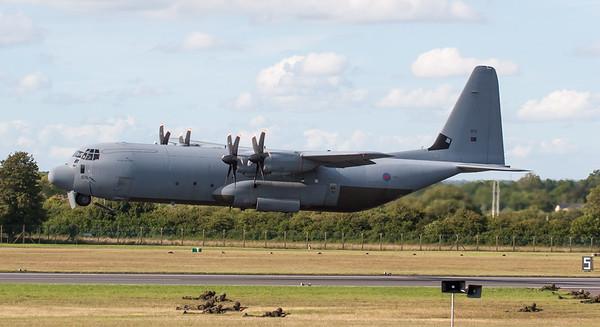 C-130J, C130, Hercules, Lockheed, RAF, RAF Role Demonstration, RIAT 2007, Royal Air Force, ZH879