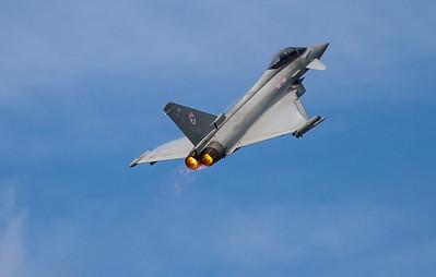 Eurofighter, RAF, RIAT 2007, Reheat, Royal Air Force, Typhoon F.2, ZJ920