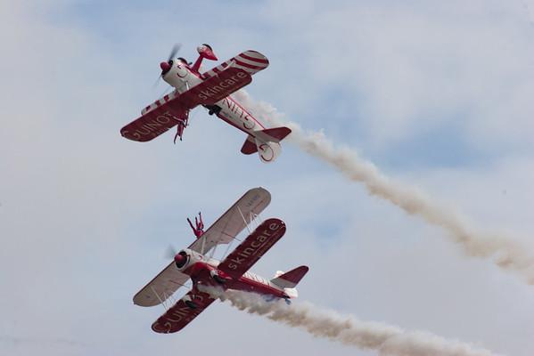 AeroSuperBatics, Boeing, Guinot, RIAT 2007, Stearman N2S, Vic Norman