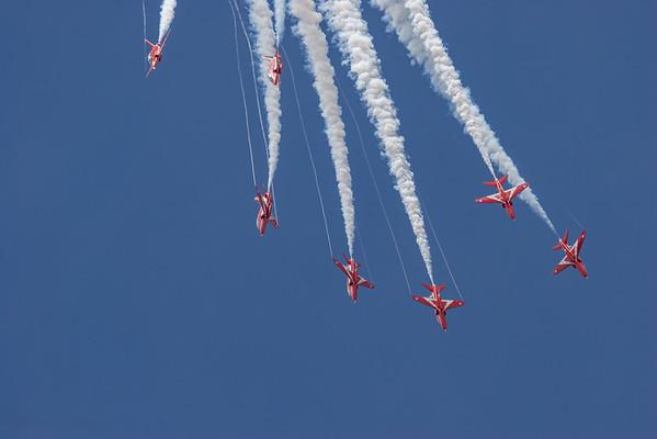 BAe, British Aerospace, Hawk T1, RAF, RIAT 2007, Red Arrows, Royal Air Force