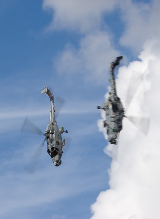 Black Cats, Lynx HMA.8DSP, RIAT 2007, Royal Navy, XZ722, ZF562