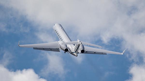 G550, Gulfstream, N550GD, RIAT 2007