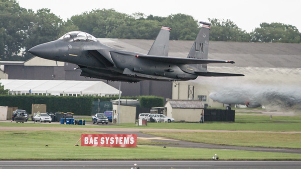 01-2002, 494-FS, Boeing, Eagle, F-15, F-15E, McDonnell Douglas, RIAT 2007, Strike Eagle, USAFE, United States Air Forces in Europe