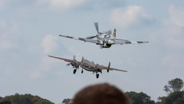 232511, 472035, B-25N, Jumpin Jacques, Mitchell, Mustang, Mustang P51d, N5-149, North American, PH-XXV, Shoreham 2007