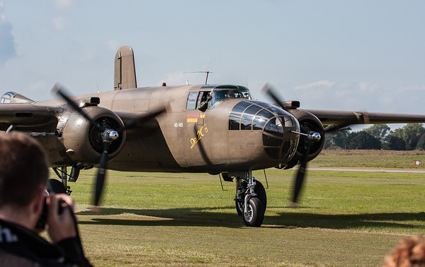 232511, B-25N, Mitchell, N5-149, North American, PH-XXV, Shoreham 2007