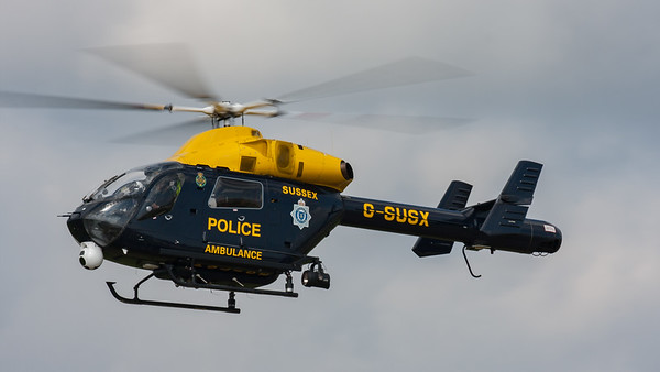 Explorer, G-SUSX, MD-902, McDonnell Douglas, Shoreham 2007, Sussex Police Helicopter