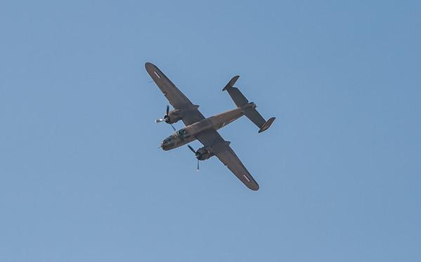 232511, B-25N, Mitchell, N5-149, North American, PH-XXV, Shoreham 2007