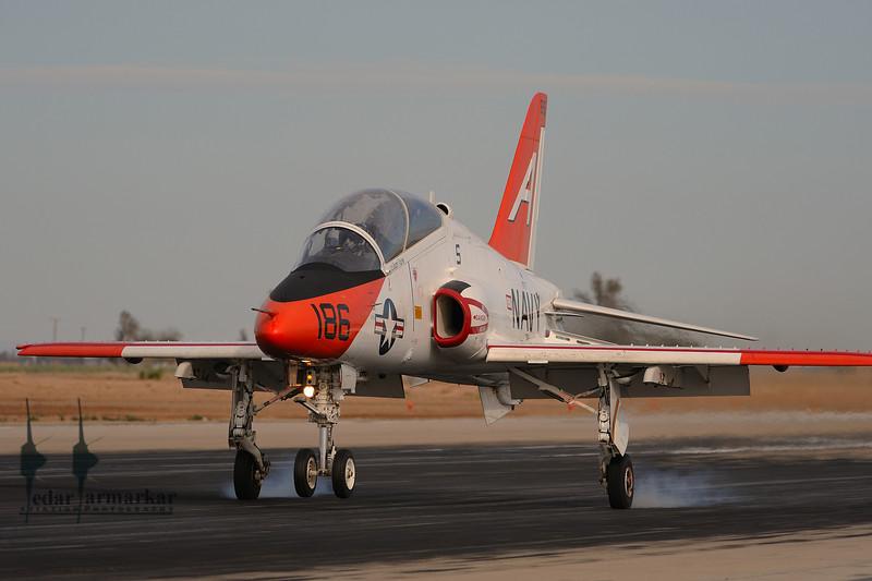 T-45 Goshawk touchdown
