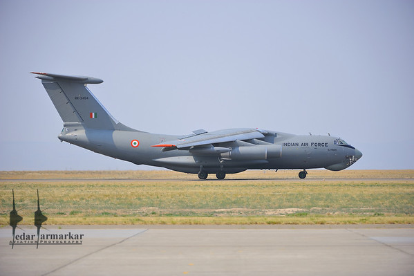 """IL-78MKI from No.78 """"Valorous MARS"""" Squadron arrives at Mountain Home AFB"""