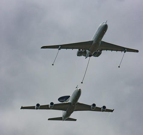 2008, AWACS, BAe, Boeing, British Aerospace, E-3, RAF 90 Flypast, RIAT 2008, Sentry, VC10, Vickers - 11/07/2008@14:36