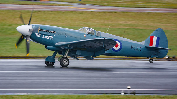 2008, Aerial Pagent, PS915, RIAT 2008, Spitfire, Spitfire PR Mk.XIX, Supermarine - 11/07/2008@14:53