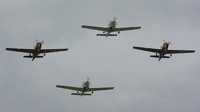 2008, Firefly, G-115E, Grob Tutor, RAF 90 Flypast, RIAT 2008, Slingsby, T-67M-260, T1, Tutor - 11/07/2008@14:33