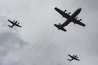 2008, BAe, Beechcraft, British Aerospace, C-130K, C130, Dominie T1, Hawker Siddeley, Hercules, Hercules C1, King Air 200, Lockheed, RAF 90 Flypast, RIAT 2008, Raytheon - 11/07/2008@14:34