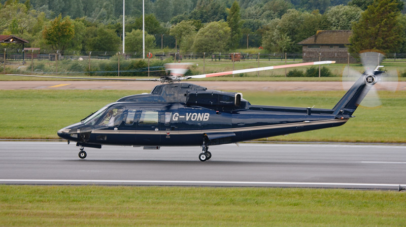 2008, C/N 76-0399, G-VONB, HM Queen Elizabeth II, Helicopter, RIAT 2008, Royal Flight, S-76B, Sikorsky - 11/07/2008@15:10