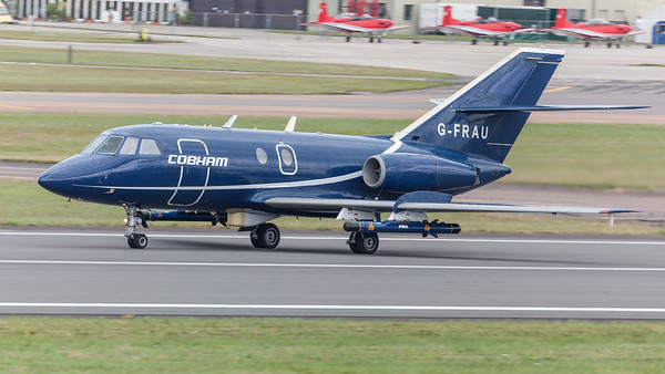 2000EX, Cobham Aviation Services, Dassault, Falcon, Falcon 20, G-FRAU, RIAT 2009 - 18/07/2009