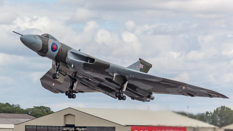 Avro, RIAT 2009, Spirit of Great Britain, Vulcan B2, XH588 - 18/07/2009