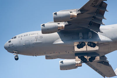 Naval Base Ventura County (NBVC Point Mugu) 2010 Air Show. Boeing C-17 Globemaster III from 97th AMW.