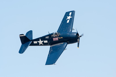 Naval Base Ventura County (NBVC Point Mugu) 2010 Air Show. SoCal CAF Grumman F6F-5 Hellcat.