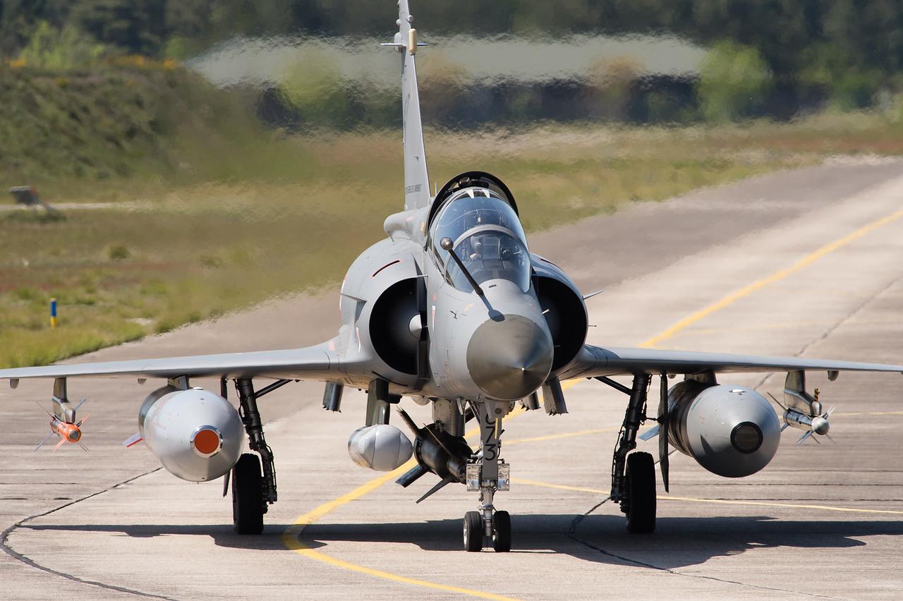 Mirage 2000D nº63. affecté à la DGA. Cazaux AFB, France.