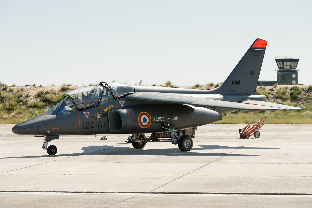 "Escadron de chasse 2/8 ""Nice"". BA120, Cazaux."