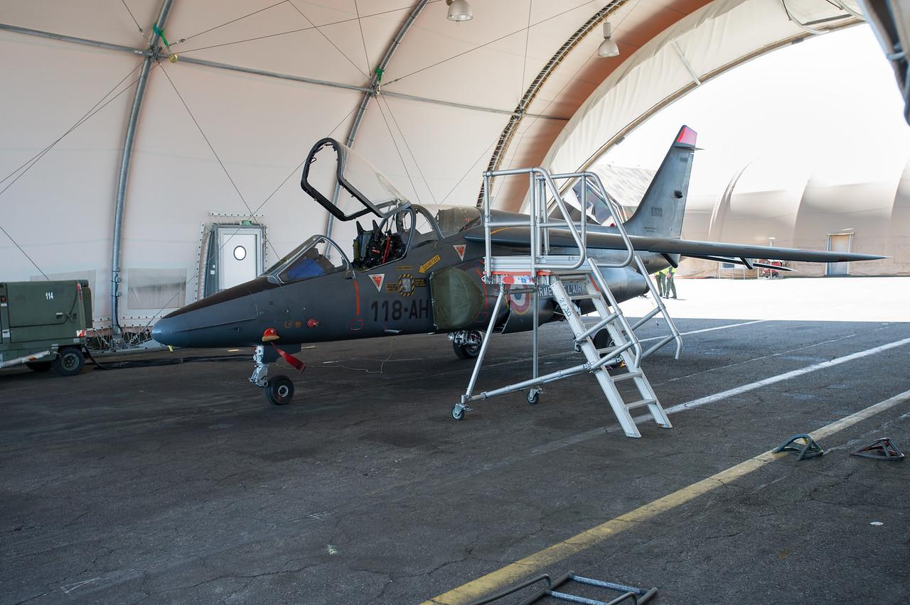 Alpha Jet E 110/118-AH de l'ECE 5/330. Mont-de-Marsan AFB, France.