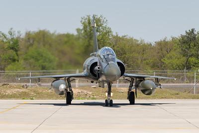 Mirage 2000D du CEAM. Mont-de-Marsan AFB, France.