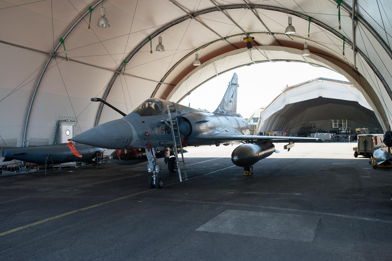 Mirage 2000-5F. Mont-de-Marsan AFB, France.