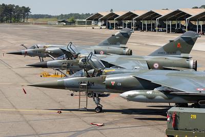"""Mirage F1CT de l'escadron de reconnaissance 2/33 """"Savoie"""". Mont-de-Marsan AFB, France."""