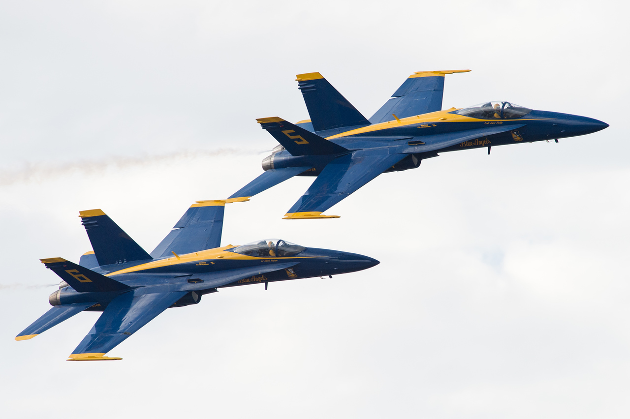 NSAP 2014 Blue Angels Homecoming Airshow.