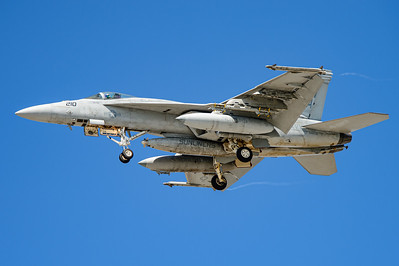 USA - Summer 2014. Naval Base Coronado. Aug. 21th. VFA-81 F/A-18E Super Hornet BuNo 166838.