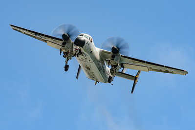 "US Navy Grummann C-2A ""Greyhound"", Bureau number 162175. Naval Base Coronado, Aug. 19th, 2014. Coronado Island."