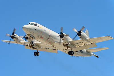 "Lockheed P-3C ""Orion"" BuNo 161414. Naval Base Coronado, Aug. 22, 2014."