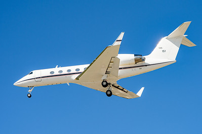 USA - Summer 2014. Naval Base Coronado. Aug. 21th. US Navy Gulfstream C-20G BuNo 165151.
