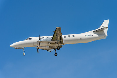 USA - Summer 2014. Naval Base Coronado. Aug. 21th. Fairchild SA227-AC Metro III N26959.