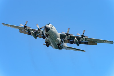 USA - Summer 2014. Naval Base Coronado. Aug. 21th. Lockheed C-130 Hercules (CW4994). Coronado Island.