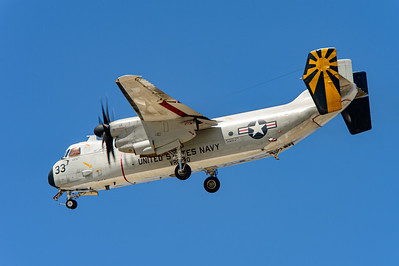 "US Navy Grumman C-2A ""Greyhound"", Bureau number 162175. Naval Base Coronado, Aug. 19th, 2014."