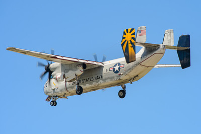 "Grumman C-2A ""Greyhound"" BuNo 162172 from VRC-30 ""The Providers"". Naval Base Coronado, Aug. 22, 2014. Coronado Island."